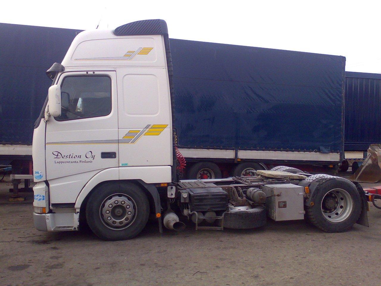 Myydään Volvo FH12 Mega rekkaveturi