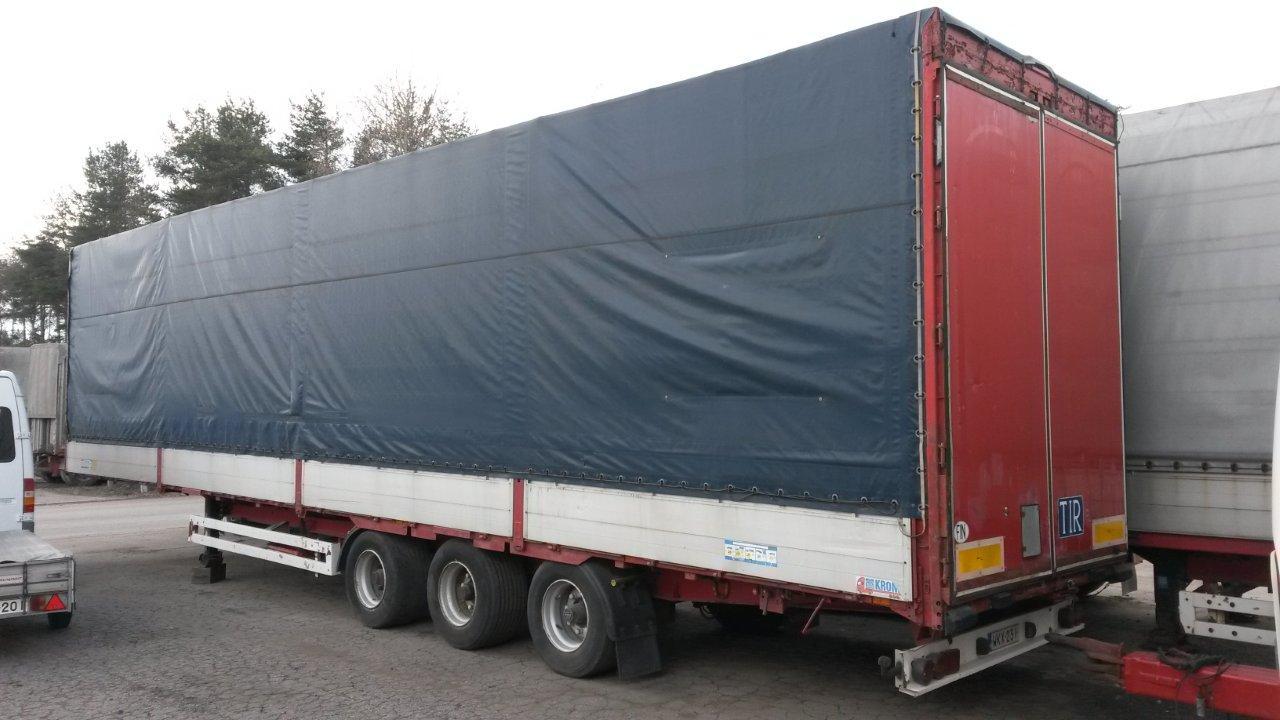 Myytävänä Krone Megatrailer